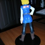 Android 18 Back Shot