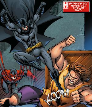 Batman vs Blockbuster