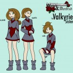 The Three Valkyrie Sisters