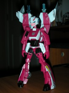 Arcee Figure from Transformers: Animated