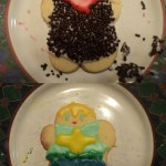 Wiglaf and Mordred Cookies