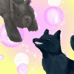 01 Grendal x Wolfie by AshleyH